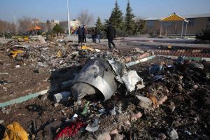 Ukraina lennukatastroof Iraanis.