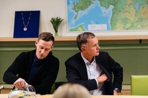 Viimsi vallavanema valimine: Tanel Einaste ja Märt Vooglaid