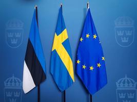 Peaminister Jüri Ratas kohtus Stockholmis Rootsi peaministri Stefan Löfveni ning pankade esindajatega.
