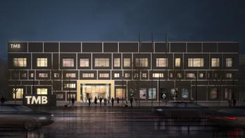 Designs for Tallinn Music and Ballet School building.