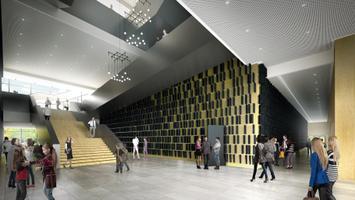 Tallinna Muusika- ja Balletikooli hoone eskiis