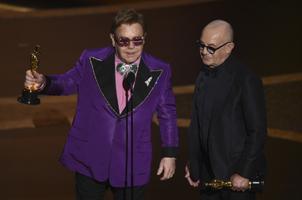 Parima filmiloo Oscari pälvisid Elton John ja Bernie Taupin