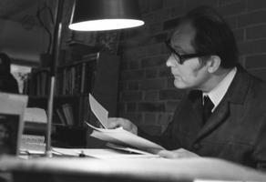 Kirjanik Jaan Kross. 1970ndad