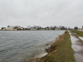 Pärnu beach on Feb. 22