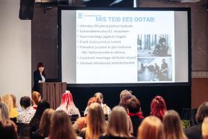На инфодень о возможностях военной карьеры пришли более 70 девушек.
