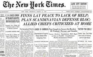 The New York Times 14.03.1940