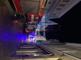 Пожар на улице Виру.