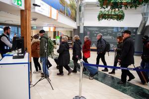 Reisijate saabumine Tallinn Vanasadamasse enne liikumispiiranguid