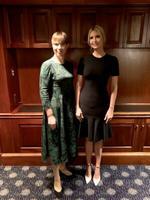 Kersti Kaljulaid ja Ivanka Trump.