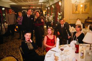 O2 filmivõtted restoranis Gloria