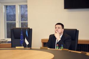 Peaminister Jüri Ratas osales EL-i juhtide koroonaviiruse teemalisel videokonverentsil.