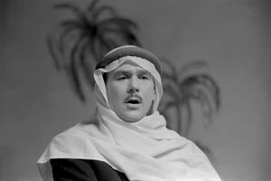 Eesti laulja, bariton Georg Ots [21.03.1920 Petrograd - 5.09.1975 Tallinn], Rombergi operett Kõrbe laul. 1957