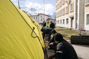 Päästeameti abiga avatakse ITK-s triaažitelk