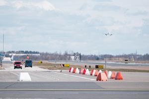 Lennurada Tallinna lennujaamas.