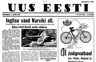 Uus Eesti 17.04.1940
