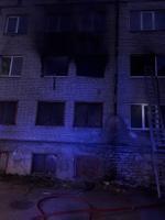 Пожар на улице Пушкина.