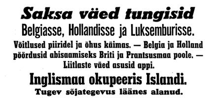 Uus Eesti 11.05.1940