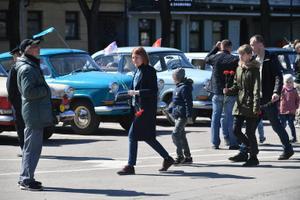 В Нарве отмечают 9 мая.