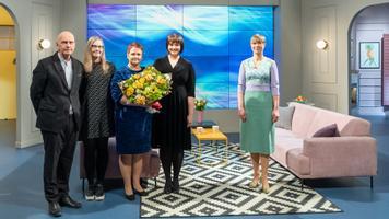 Eesti naisliidu esinaine Mailis Ait kuulutas saates