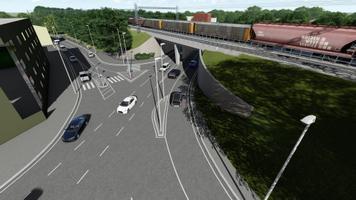Виадук на Палдиском шоссе после реконструкции.