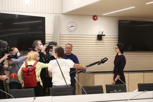 Прокурор дает комментарии после приговора суда.