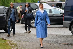 President Kersti Kaljulaid Mustvees.