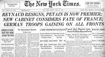 The New York Times 17.06.1940