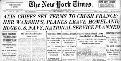 The New York Times 19.06.1940