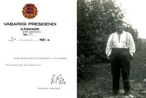 Karl Soonpää oma Elva lähedal Pangodi vallas Etsaste külas asuvas Sultsi talus, mis oli valla üks suuremaid – 97 hektarit, millest üle 40 hektari oli põllumaad. 11. juunil 1940, veel üsna rahulikus üldpoliitilises õhkkonnas, oli president Konstantin Päts