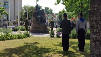 Võidupüha tähistamine Kuressaares.