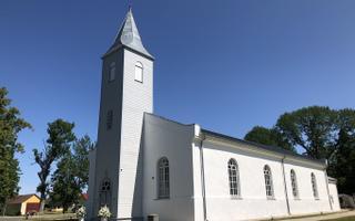 Kärdla kiriku taaspühitsemine.