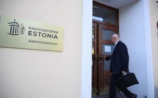 Rahvusooper Estonia nõukogu kogunes erakorralisele istungile.