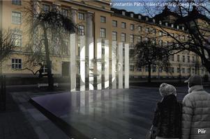Konstantin Pätsi mälestusmärgi ideekonkursi auhinnatud töö