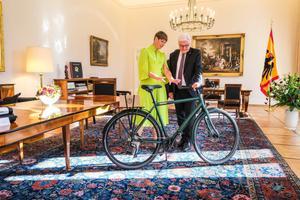 President Kersti Kaljulaid visiidil Saksamaal.