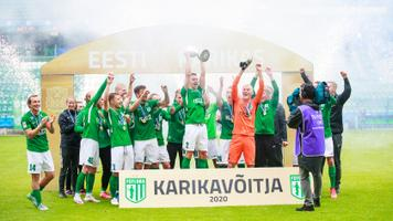 2020. aasta Tipneri karikavõistluste võitja FC Flora
