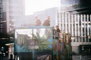 Lexsoul Dancemachine'i kontsert bussi katusel