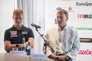 Kahevõistleja Kristjan Ilvese pressikonverents