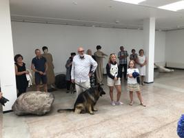 Terje Ojaveri näituse avamine.