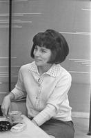 Lilian Kosenkranius ETV stuudios 1960ndatel