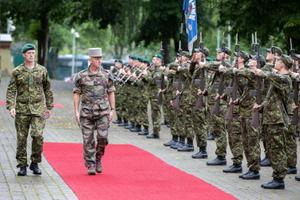 French Chief of Staff Gen. Francois Lecointre's visit to Estonia.