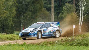 Rally Estonia laupäevane võistluspäev