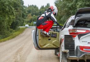 Rally Estonia kolmas võistluspäev