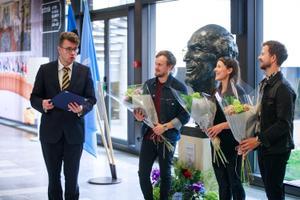 Välisministeeriumi kultuuripreemia üleandmine
