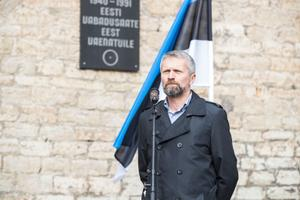 В Таллинне отметили День сопротивления.