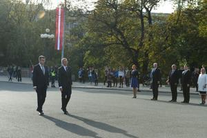 Урмас Рейнсалу в Латвии.