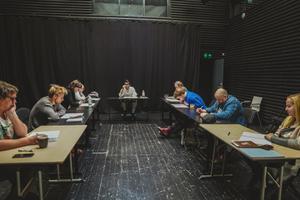 """Rakvere Teatris algasid lavastuse """"Sirli, Siim ja saladused"""" proovid."""