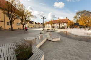 Selgusid kultuurkapitali arhitektuuripreemiate nominendid. Kuressaare linnakeskus.