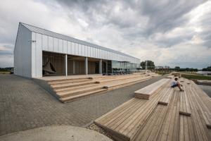 Selgusid kultuurkapitali arhitektuuripreemiate nominendid. Kamari veelauapargi maja.