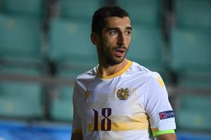 Jalgpalli Rahvuste liiga mäng Eesti - Armeenia