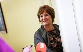 Center MP Kersti Sarapuu.